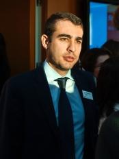 Fotografia del voluntario Luis león de PwC